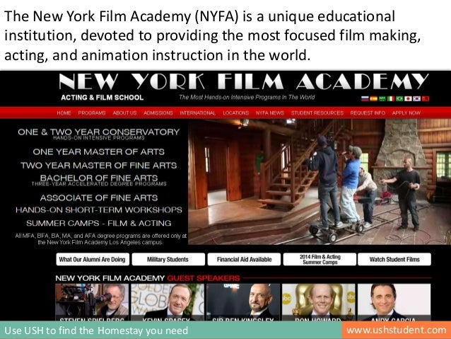 Homestay Accommodation For Students In New York Film Academy