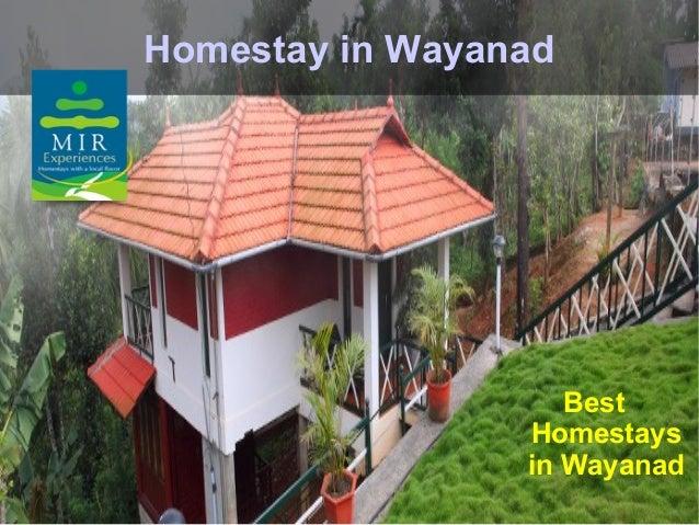 Homestay in Wayanad                    Best                 Homestays                 in Wayanad