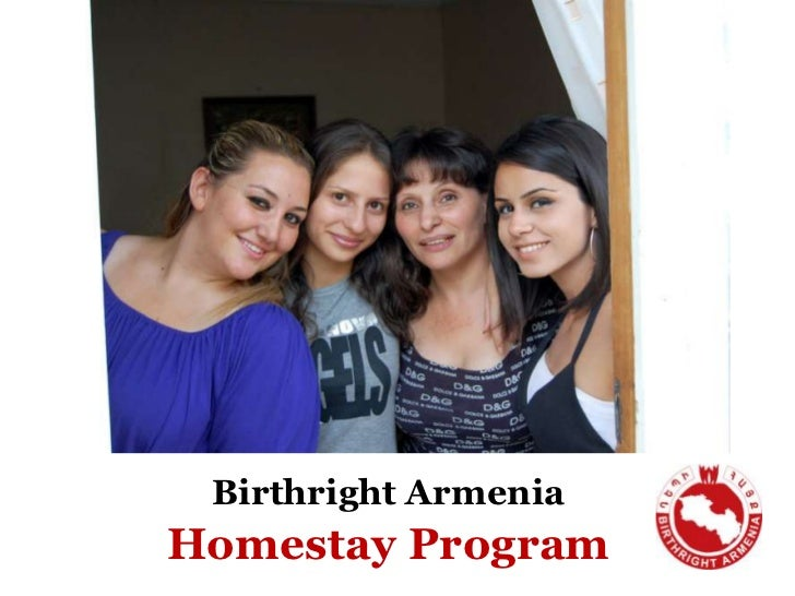 Birthright ArmeniaHomestayProgram<br />