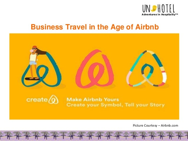 Business Travel in the Age of Airbnb