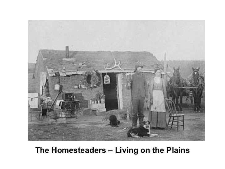 The Homesteaders – Living on the Plains