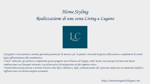 Realizzazione di una zona Living a Lugano HomeStyling Il progetto � stato portato a termine gestendo passione per la music...