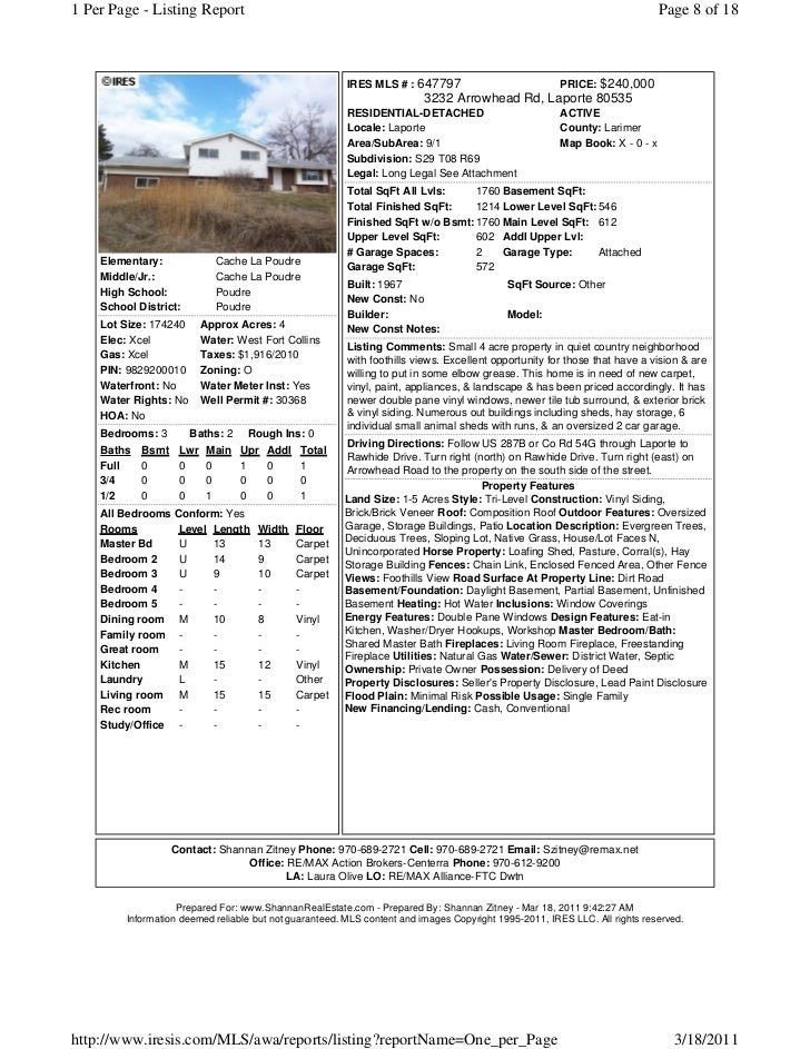 Homes with land in larimer county w no hoa under 300 000 for Laporte county phone book
