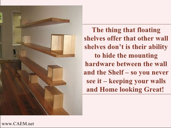 Floating Shelves Space Savers