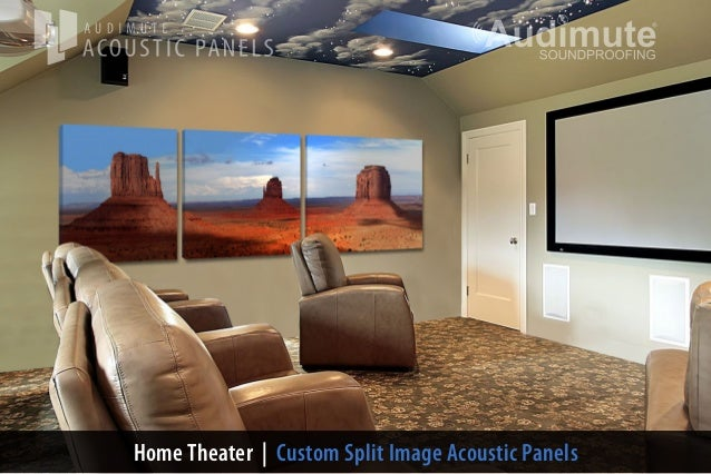 Audimute 39 S Home Theater Wall Decor