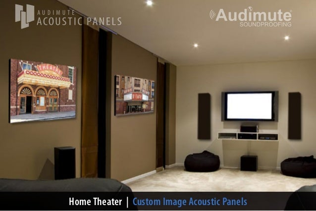 Home Theater | Custom Image Acoustic Panels