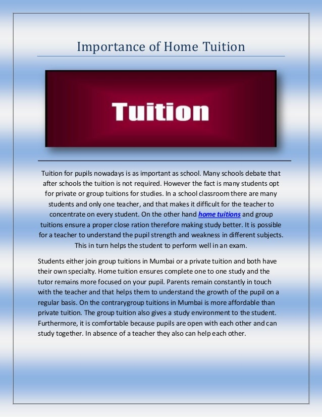 debate tuition or no tuition