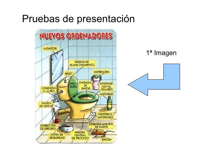 Pruebas de presentación 1ª Imagen