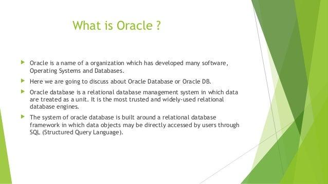 Homework help on oracle Slide 2