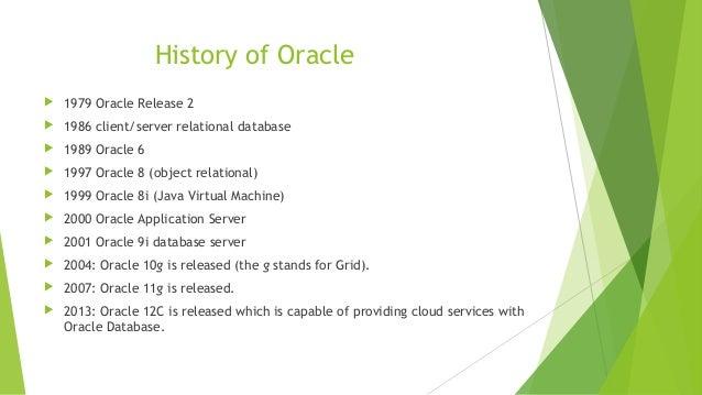 Homework help on oracle Slide 3