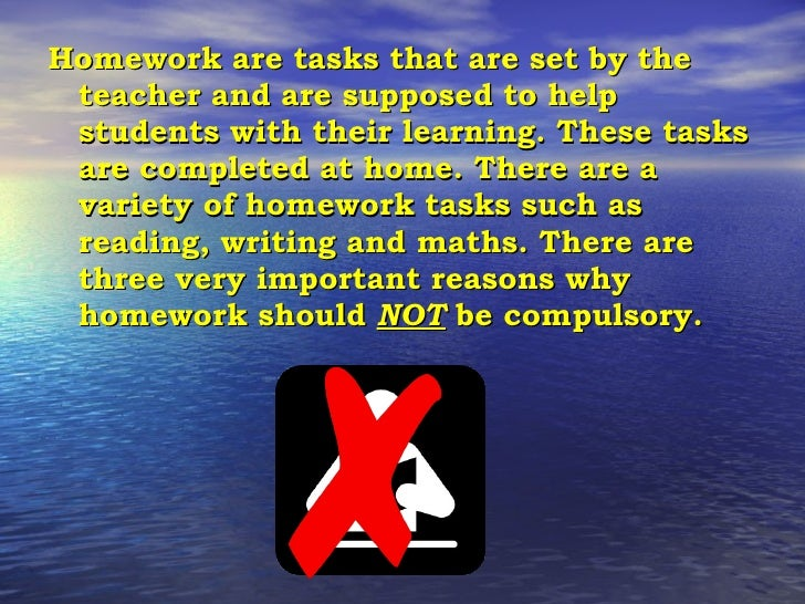 The Homework Debate