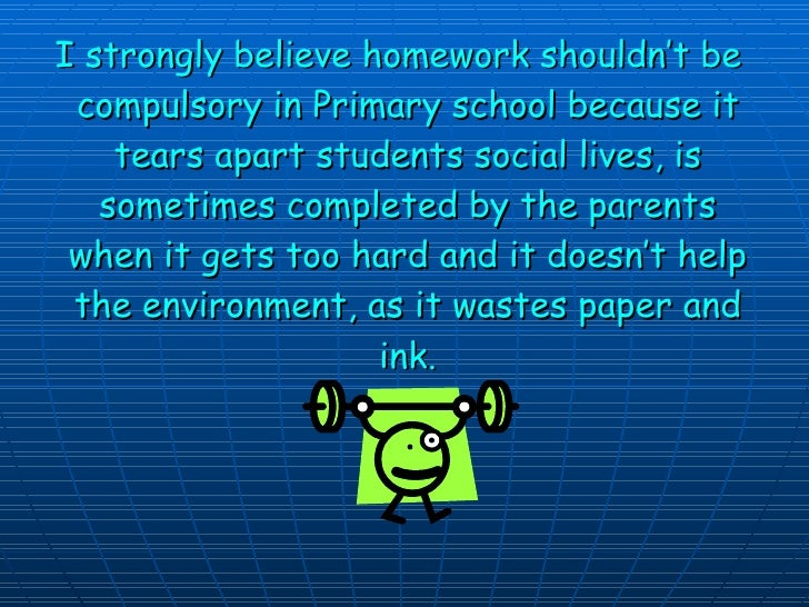 Homework doesn't help students