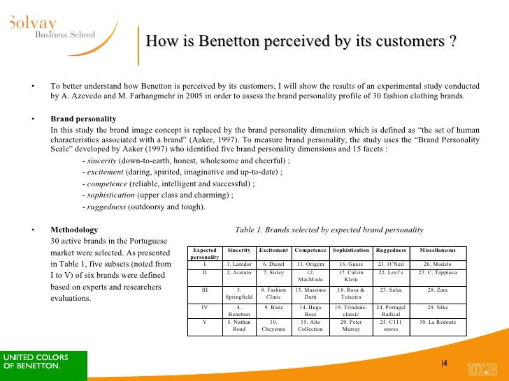 Benetton   Case Study Solution   Case Study Analysis