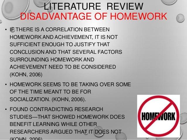 Homework disadvantages persasive essay ideas