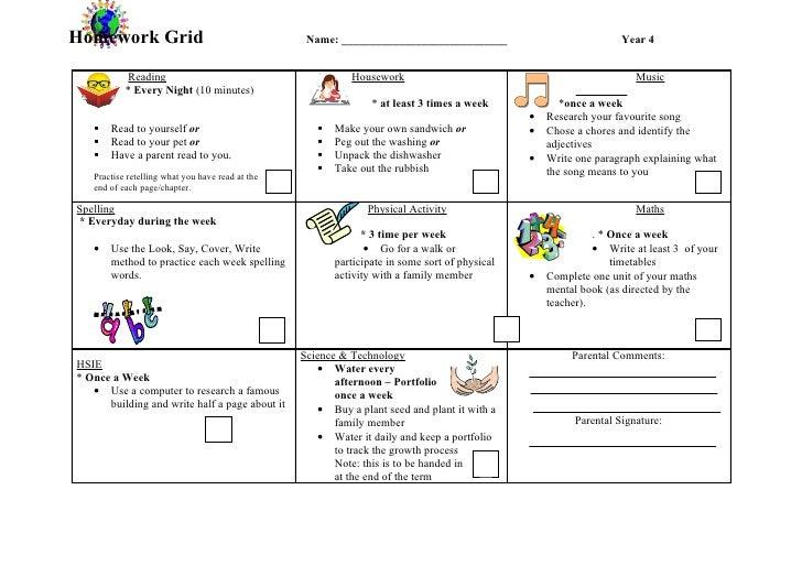 Fc assignment grid pdf