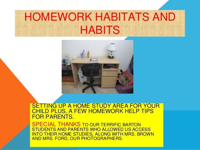 Homework help habitats