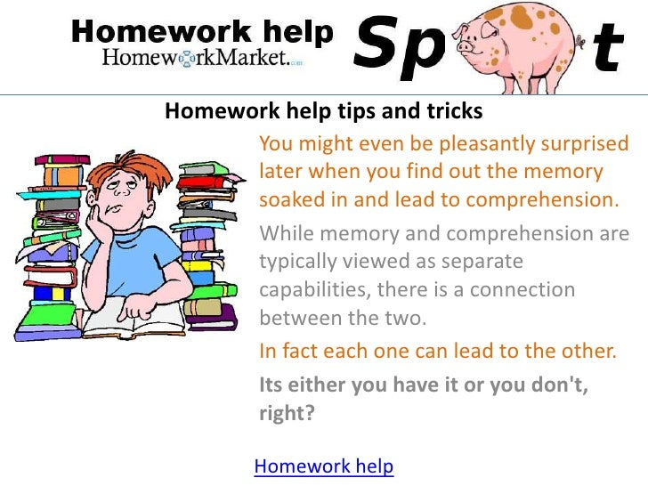Homework is helpful facts