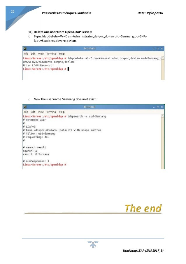 LDAP Server On Linux (Open LDAP Service)