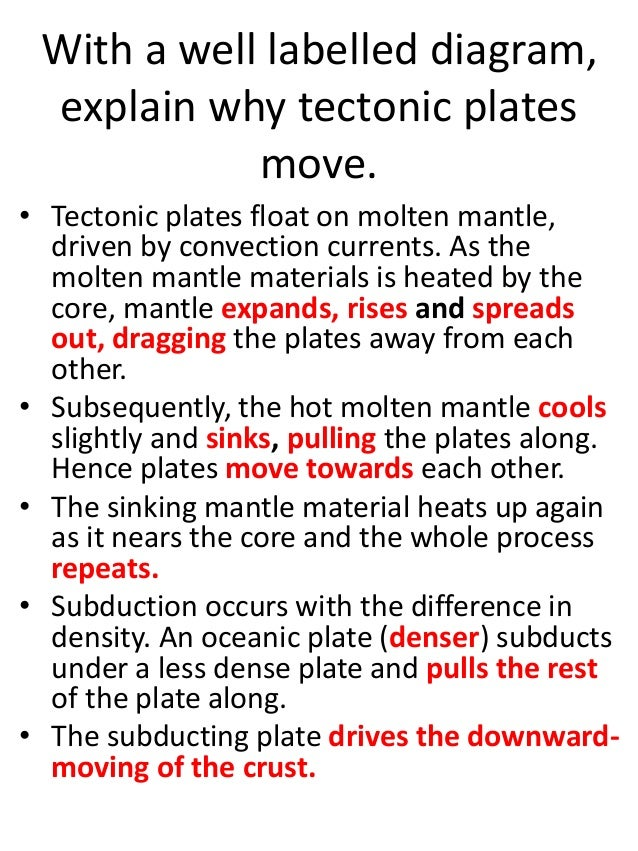 Homework On Plate Tectonic