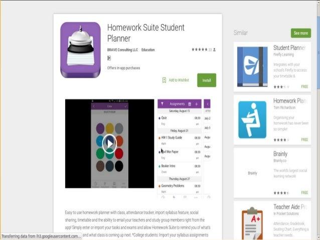 homework suite student planner also sends notification 3 homework assignment app