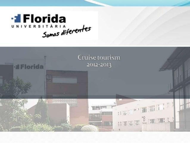 Index Presentation Description of Valencia city Cruises tourism figures Marketing mix of cruise tourism analysis SWOT...