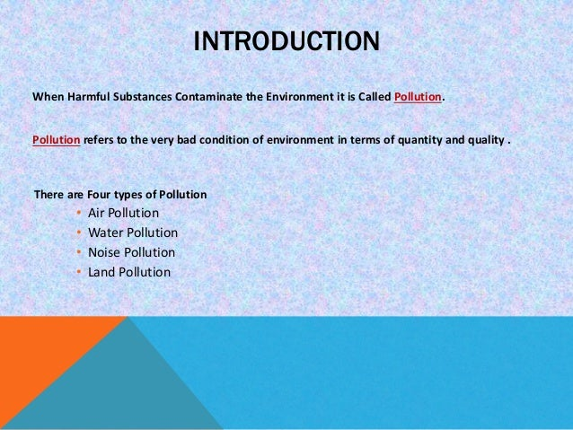 air pollution in india introduction