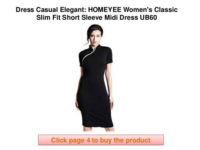 Classic Elegant Dresses