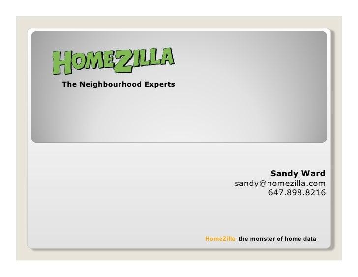 The Neighbourhood Experts                                                 Sandy Ward                                      ...