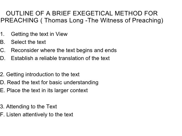 Homiletics notes outline pronofoot35fo Image collections