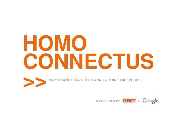 HOMO CONNECTUS >>
