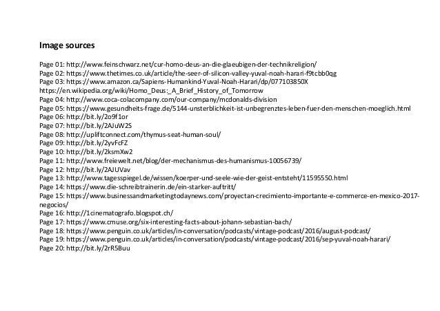 Image sources Page 01: http://www.feinschwarz.net/cur-homo-deus-an-die-glaeubigen-der-technikreligion/ Page 02: https://ww...