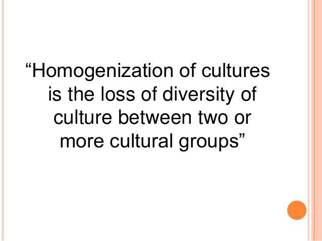 Homogenization