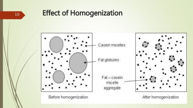 Homogenized milk
