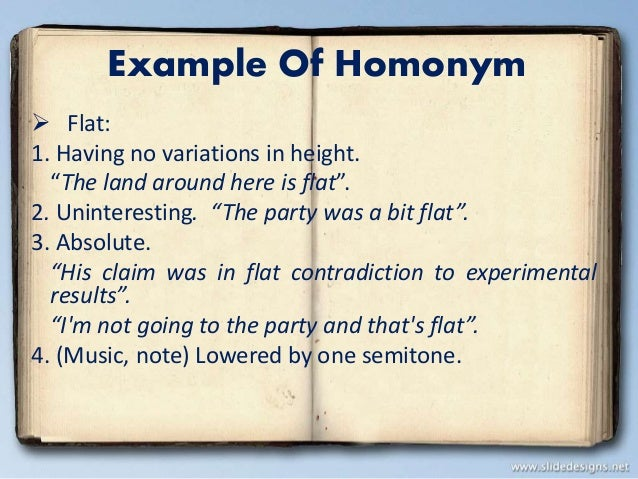 polysemy and homonymy  homonymy and polysemy semantics is the scientific study of meaning in language and deals with a lot of complex subjects, such as utterances and sentences,.