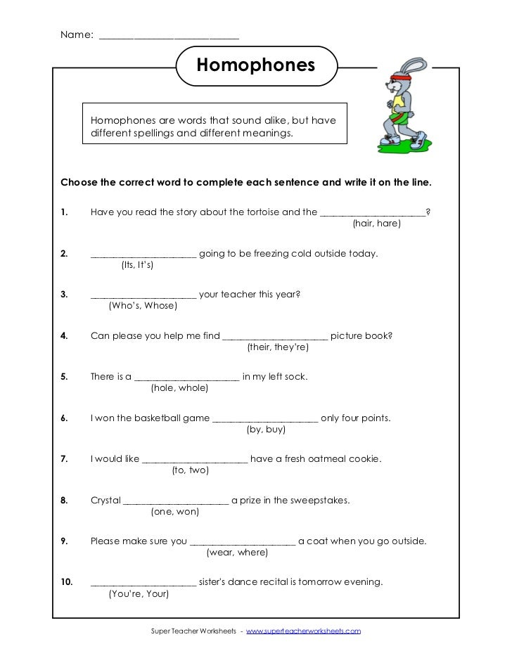 Collections of Super Teachers Worksheets English, - Easy Worksheet ...