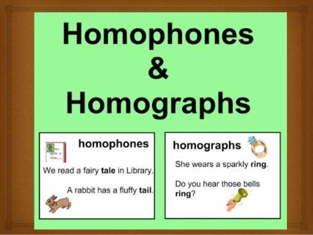 Homophones Amp Homographs Cody