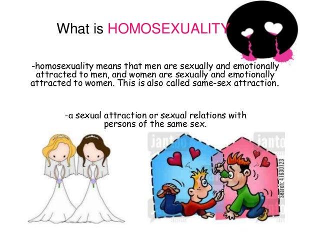 Define homosexual relationships vs heterosexual relationships