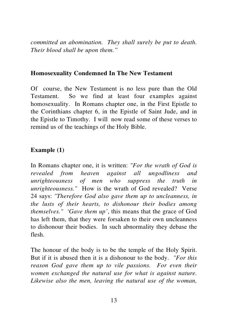 New testament verses on homosexuality foto 556