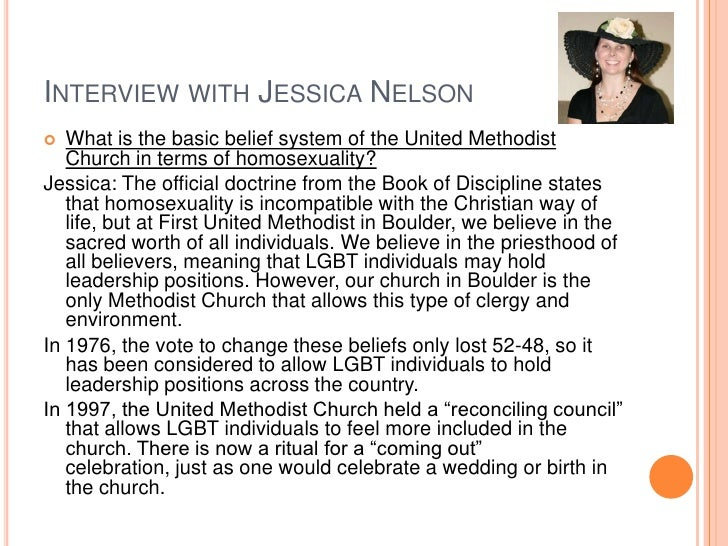 Methodist beliefs on homosexuality in christianity