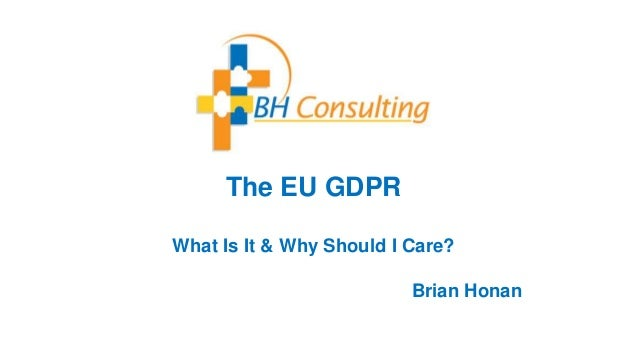 An Essential Guide to EU GDPR