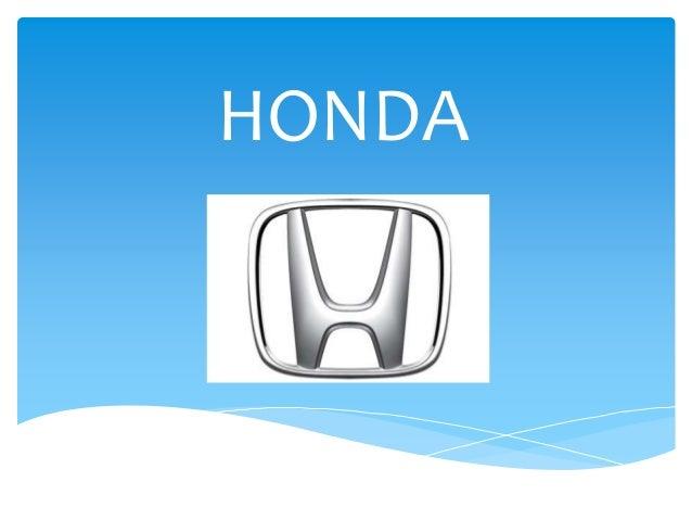 Honda Car Manufacturing And Production Outcomes Massive Presentation