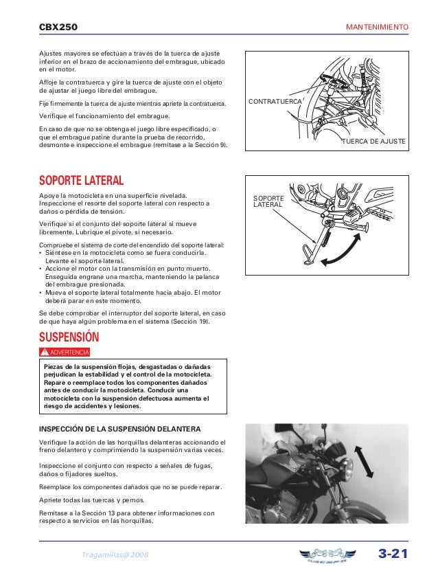 Manual De Taller Honda Cbf