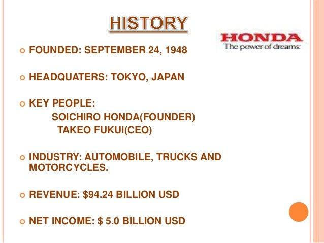 2 1 Honda Motor Company