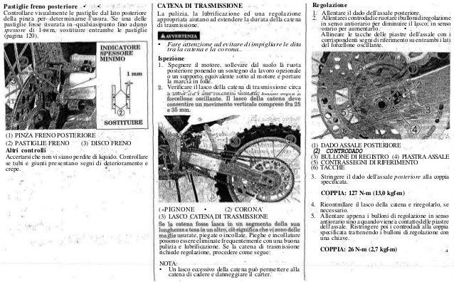 2000 Honda Cr 125 Service Manual