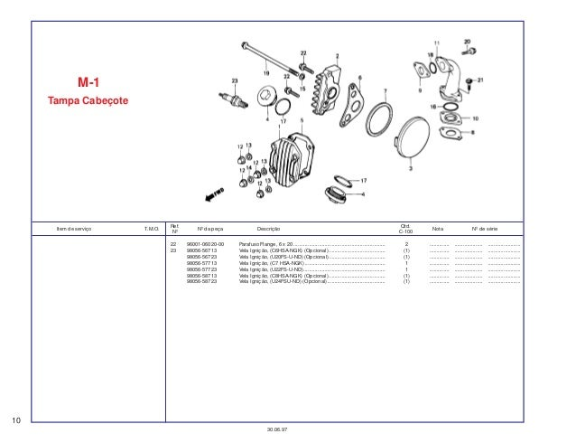 honda ex5 dream 100 spare part catalog manual rh pt slideshare net EX5 Honda Ronda Honda Dream
