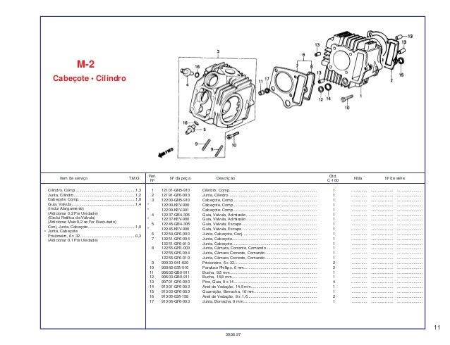 Honda ex5-dream 100-spare-part-catalog-manual