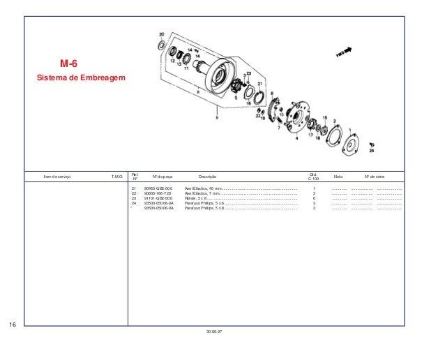 Honda ex5-dream 100-spare-part-catalog-manual