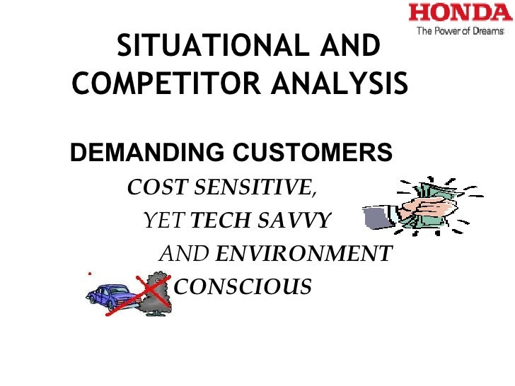 honda marketting strategy Honda is also known for its pricing strategy for entry-level products, the company sets price for low-unit margin and high-unit volume on an entry-level product, in order to gain high market share (auto spies, 2010.
