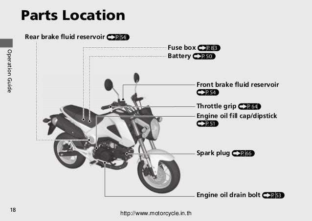 motorcycle parts names and pictures pdf