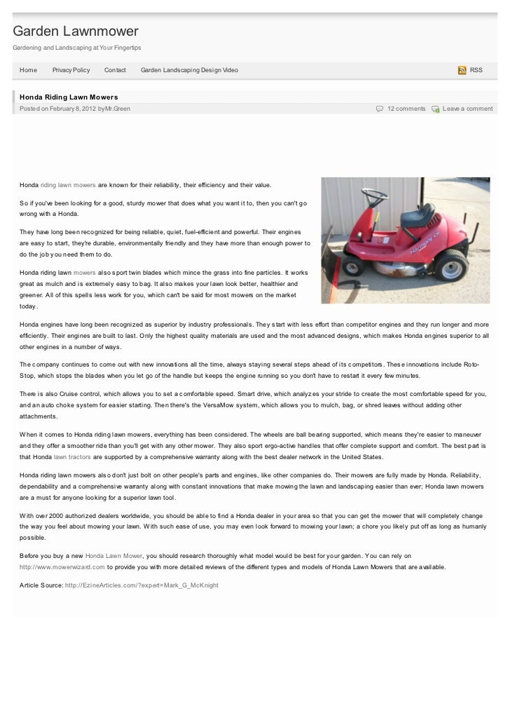 Garden LawnmowerGardening and Landscaping at Your Fingertips  Home        Privacy Policy    Contact      Garden Landscapin...